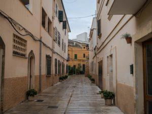 Uliczki Alcudii, Majorka