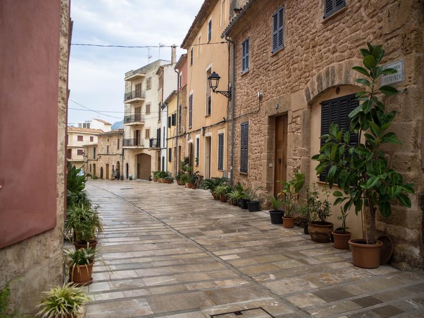 Malownicze uliczki Alcudii, Majorka