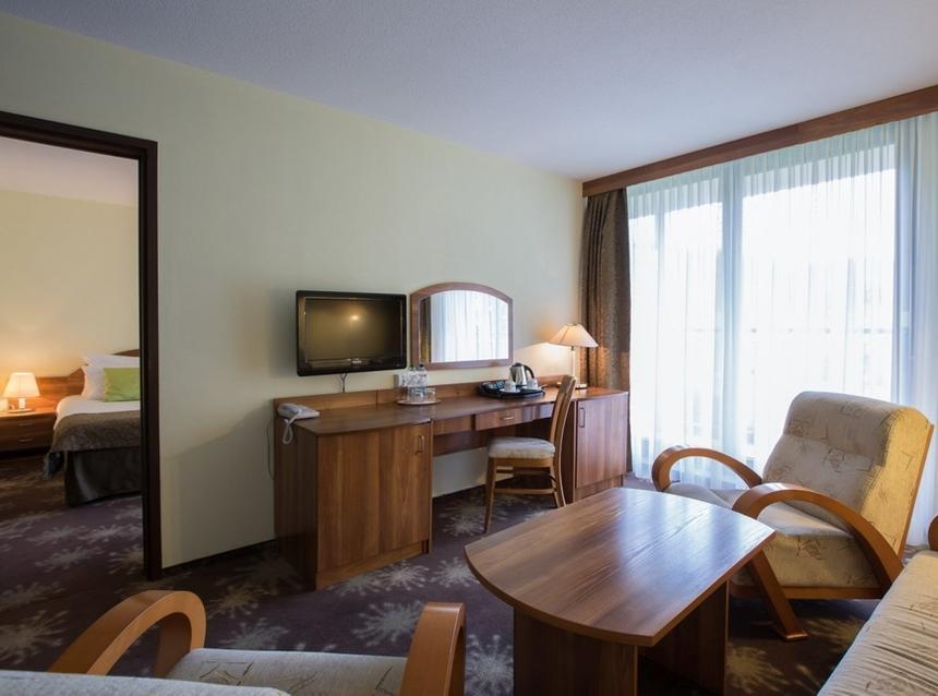 Apartament zjednym łóżkiem queen-size, Mercure Karpacz Skalny