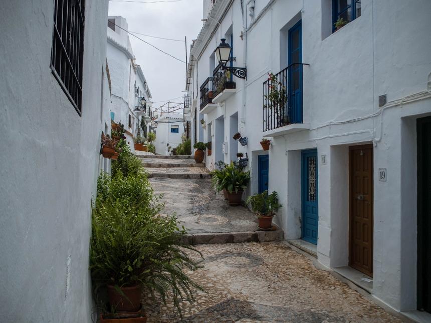 Frigiliana - białe miasteczko w Andaluzji