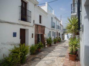 Frigiliana - malownicza miejscowości, niedaleko Nerji, Andaluzja, Costa del Sol