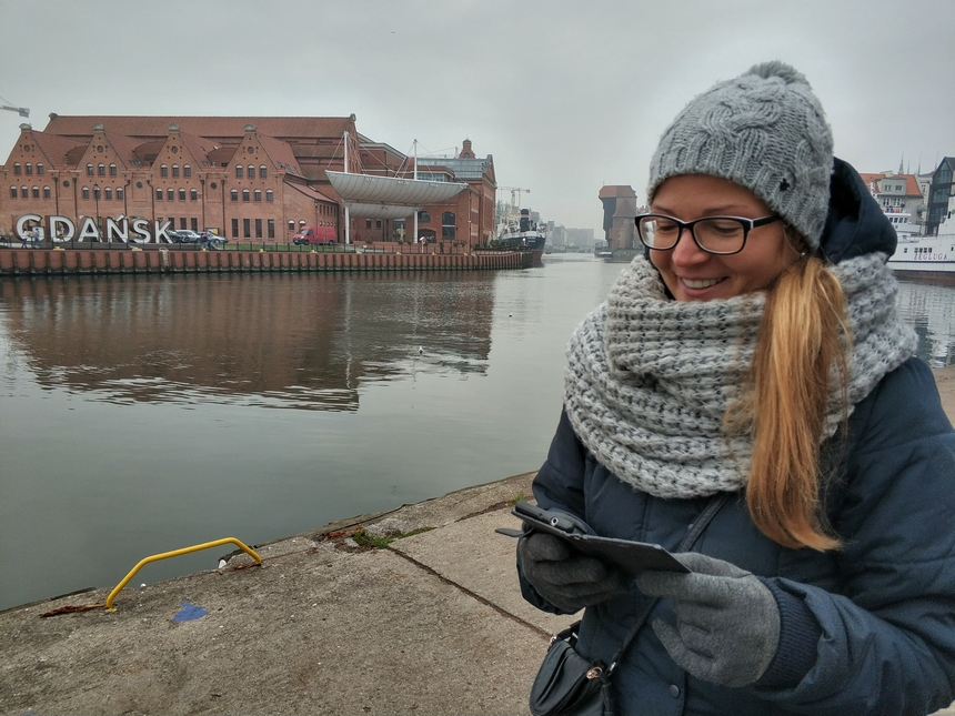 Gdańsk - widok naFilharmonie