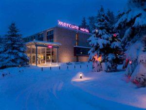 Mercure Karpacz Skalny - zimową porą