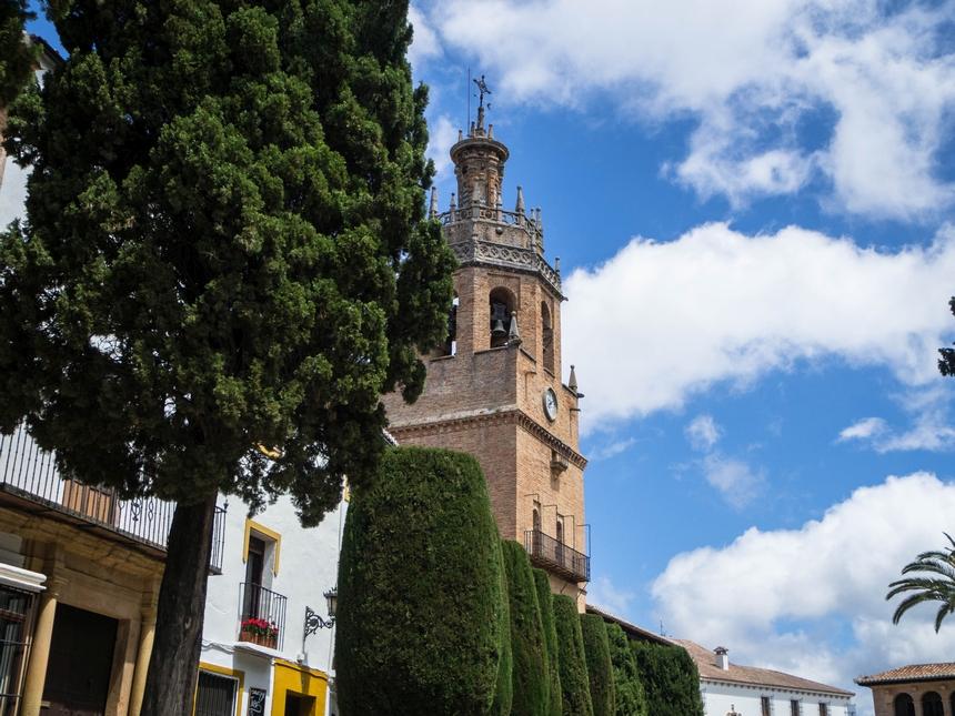 Wieża kościoła Iglesia de Santa María la Mayor, Ronda