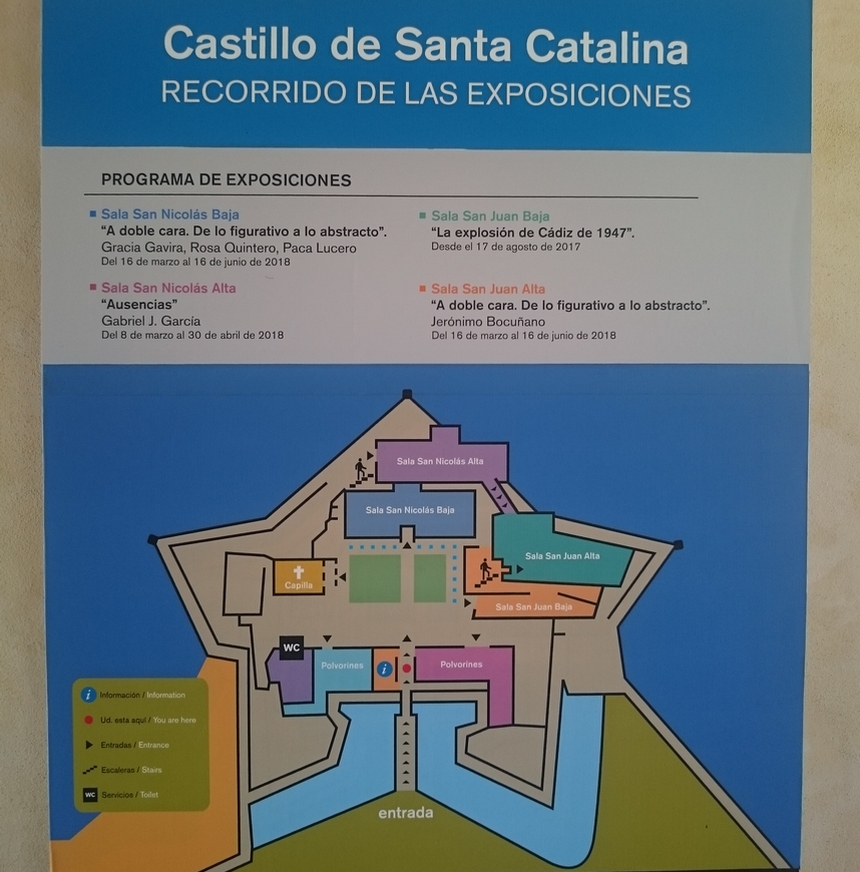 Castillo de Santa Catalina, Kadyks