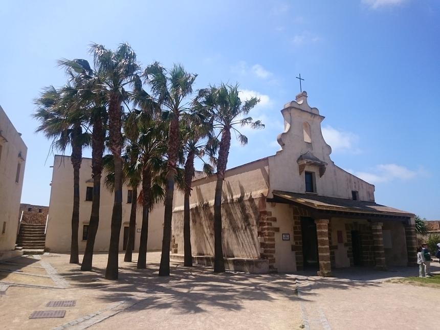 Kaplica naterenie Castillo de Santa Catalina, Kadyks