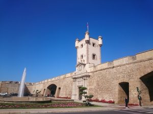 Mury obronne wKadyksie, Andaluzja
