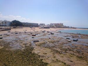 Playa La Caleta, Kadyks, Andaluzja