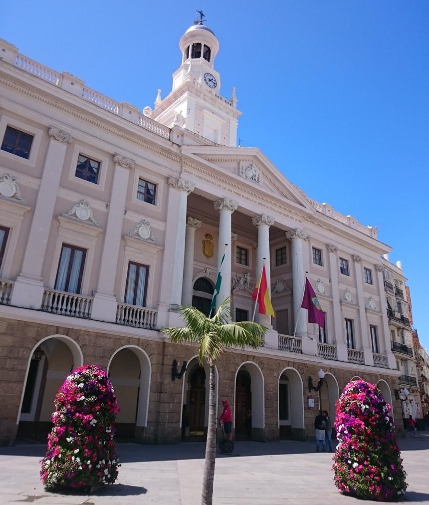 Ratusz (Ayuntamiento) wKadyksie, Andaluzja