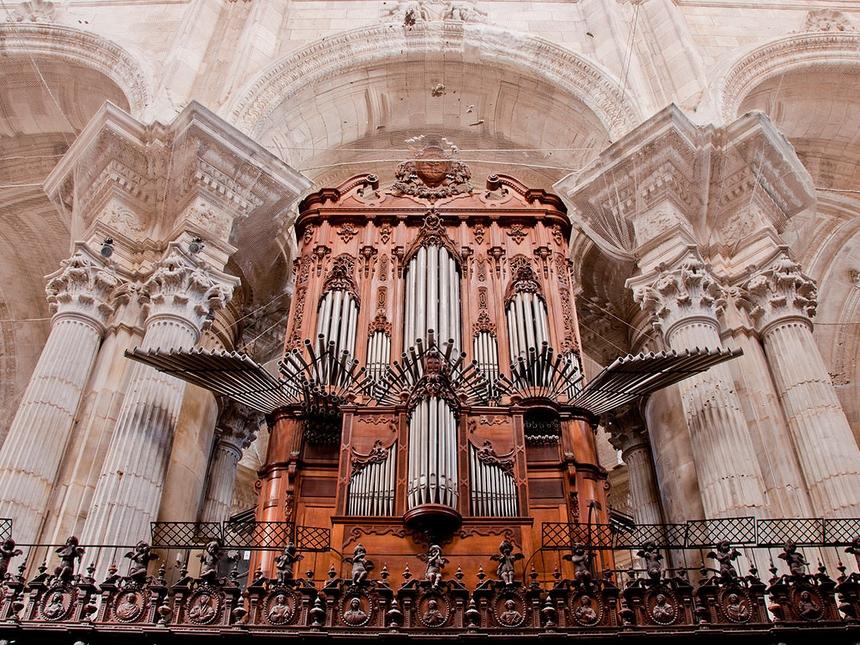 Wnętrze Katedry wKadyksie (Catedral Nueva), Andaluzja