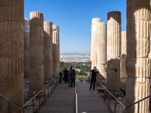 Brama Propyleje - Akropol, Ateny
