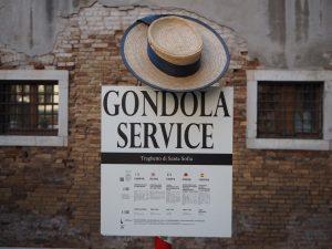 Gondole Service czyliopłaty zaprzepłynięcie gondolą wWenecji