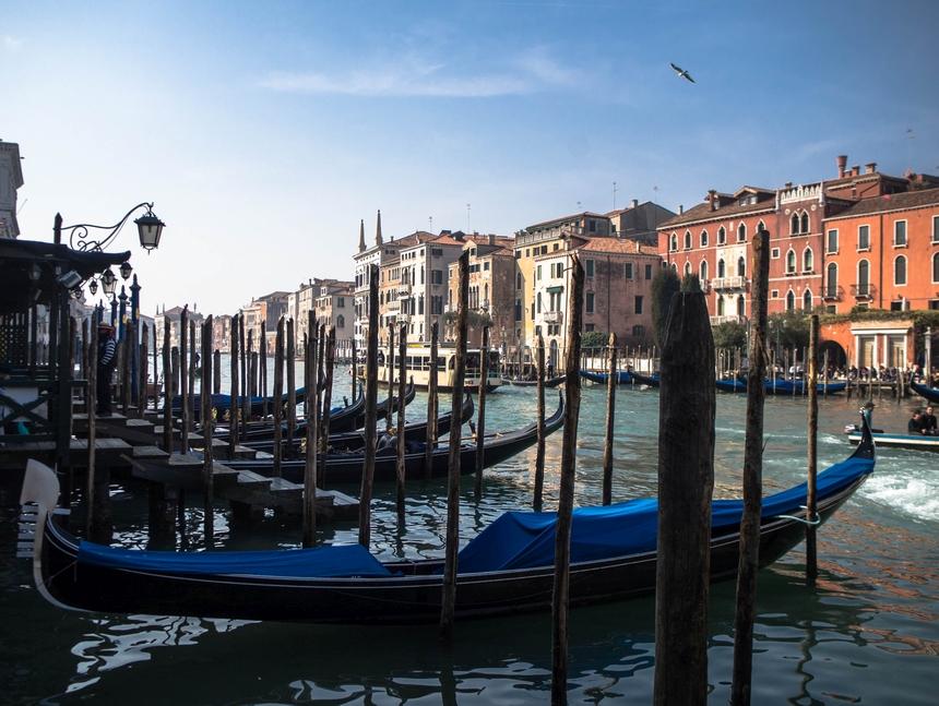 Wenecja - miasto pełne gondoli