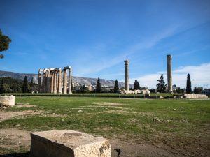 Świątynia Zeusa Olimpijskiego, Ateny