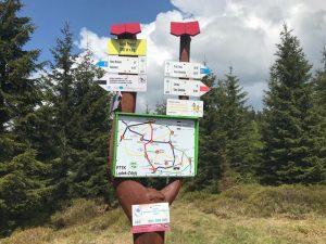 Przełęcz Sucha, Góry Bialskie
