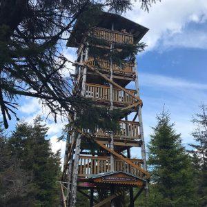 Wieża widokowa naCzernicy, Góry Bialskie