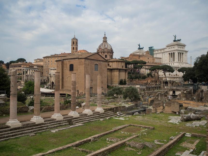 Forum Romanum wRzymie