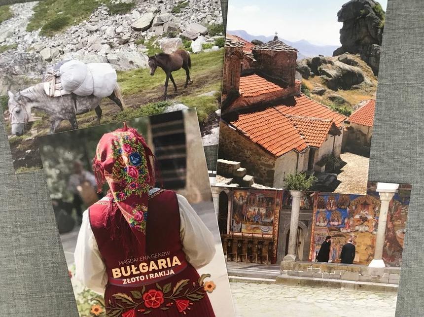 Pocztówki zBułgarii. Bułgaria. Złoto irakija – Magdalena Genow