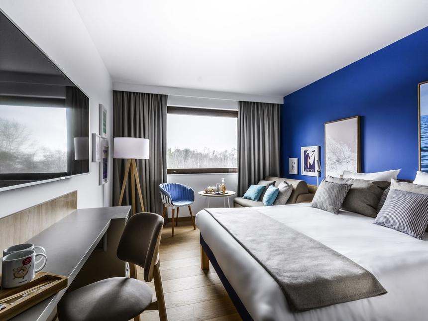 Pokój superior - hotel Novotel Gdańsk Marina