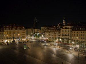 Widok zhotelu Vienna House QF Dresden