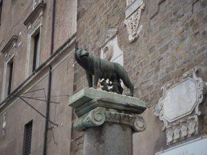 Wilczyca kapitolińska - symbol Rzymu