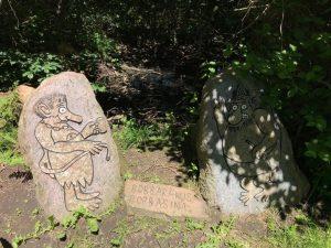 Kamienie Slaus'a - Bornholm
