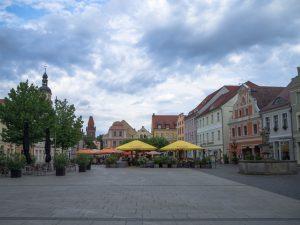 Chociebuż - rynek, Cottbus