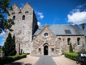 Kościół św. Jana Chrzciciela (A kirke), Aakirkeby, Bornholm