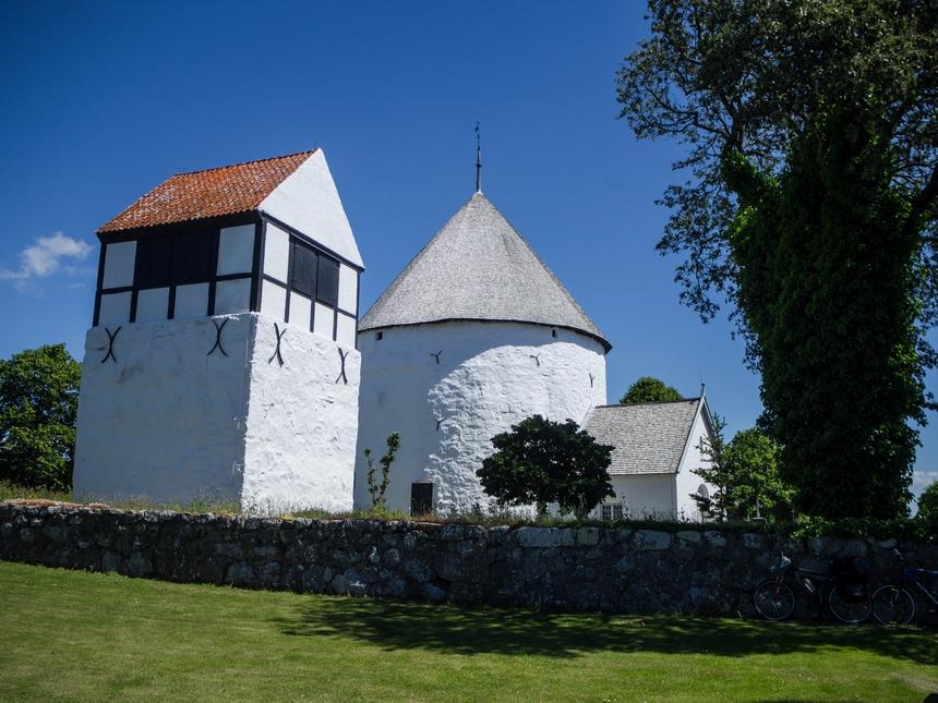 Kościół rotundowy wNylars, Bornholm