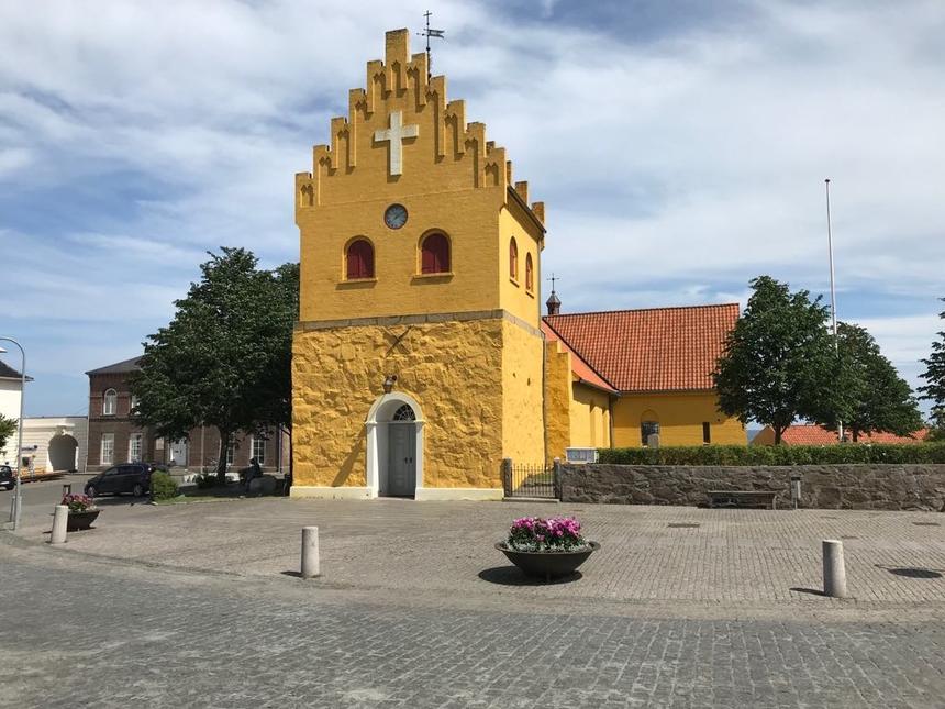 Kościół wAllinge (Allinge kirke), Bornholm