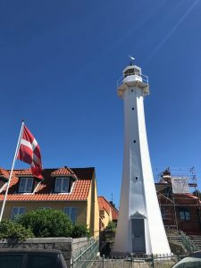 Latarnia morska wRonne, Bornholm