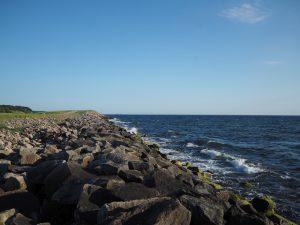 Plaża wHasle, Bornholm
