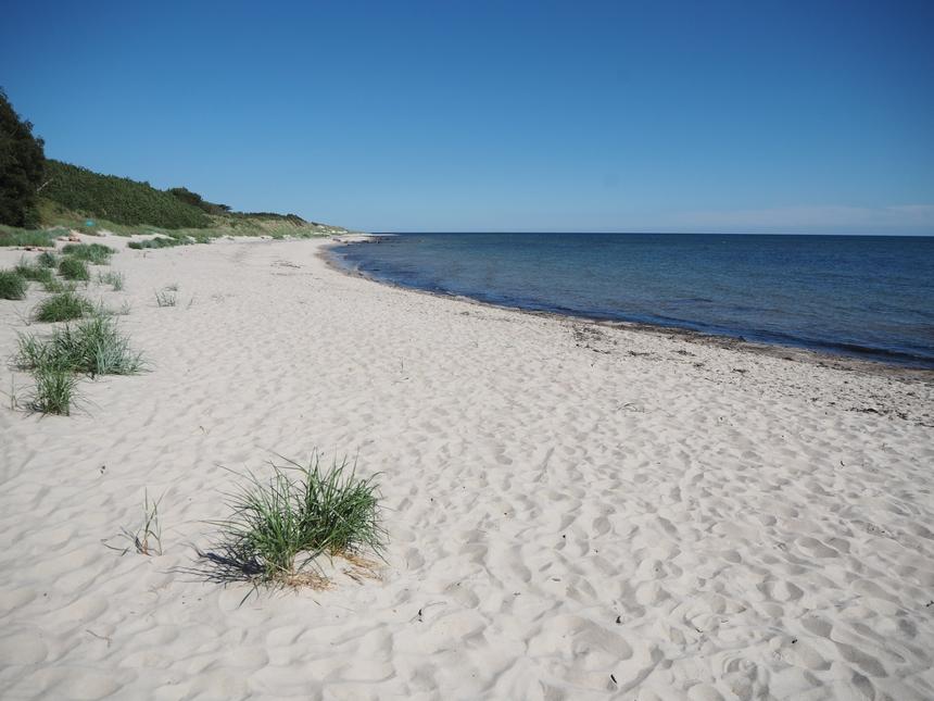 Duodde to przede wszystkim piaszczyste plaże, Bornholm