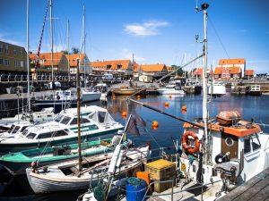 Przystań wSvaneke, Bornholm