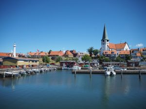 Widok naRonne zportu, Bornholm