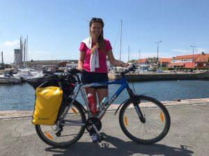 Rowerem poBornholmie, czylipierwsza wyprawa rowerowa