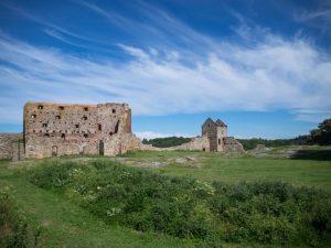 Ruiny zamku Hammershus, Bornholm