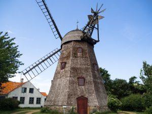 Drugi wiatrak holenderski wSvaneke, Bornholm
