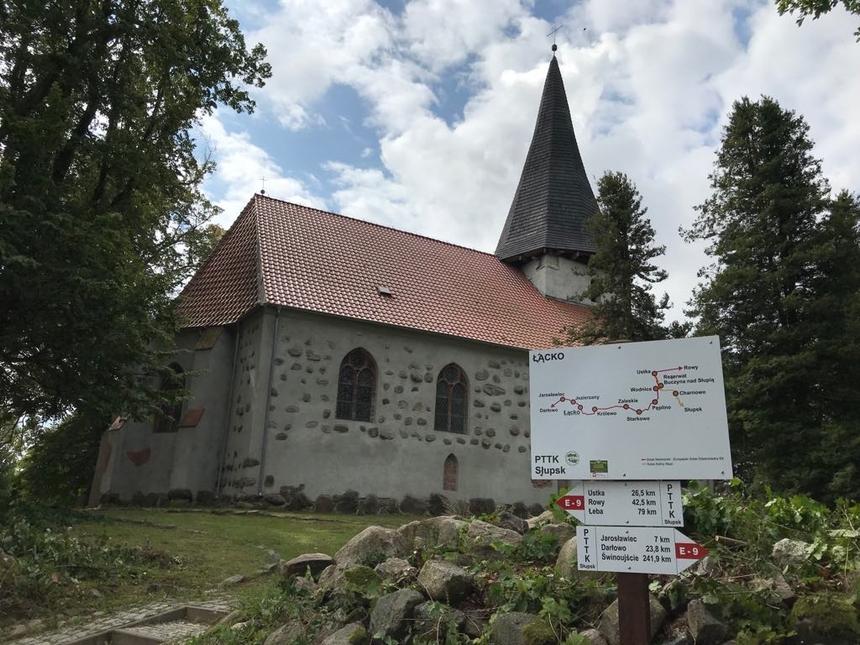 Kościół wmiejscowości Łącko