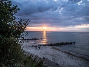 Zachód słońca, Niechorze