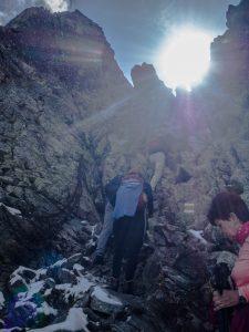 Przejście przezprzełęcz Bystra Ławka, Tatry Wysokie