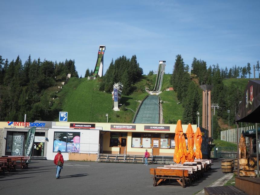Stok iwyciąg narciarski wSzczyrbskim Jeziorze, Tatry Wysokie