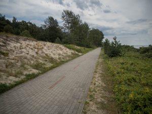 Droga rowerowa przezPółwysep Helski