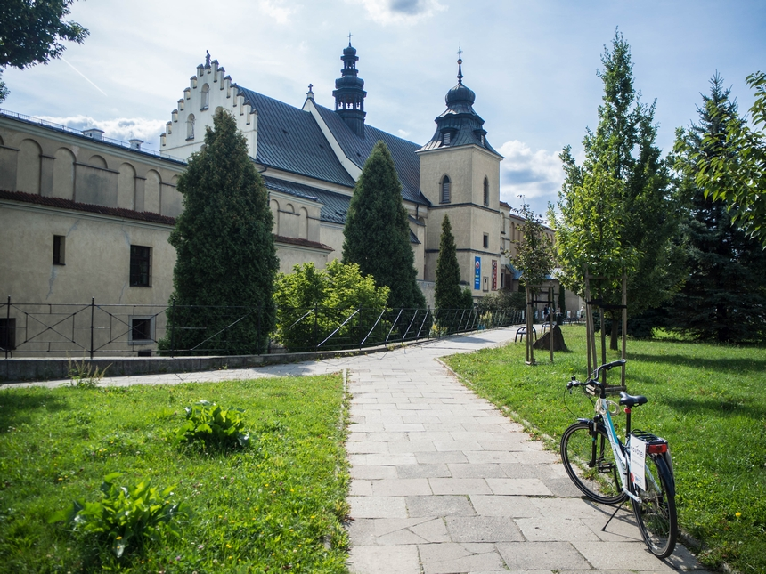 Rowerem naSalwator, Kraków