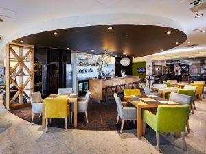 Lobby bar whotelu Novotel Kraków Centrum
