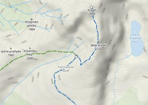 Szlak naKrywań - mapa turystyczna