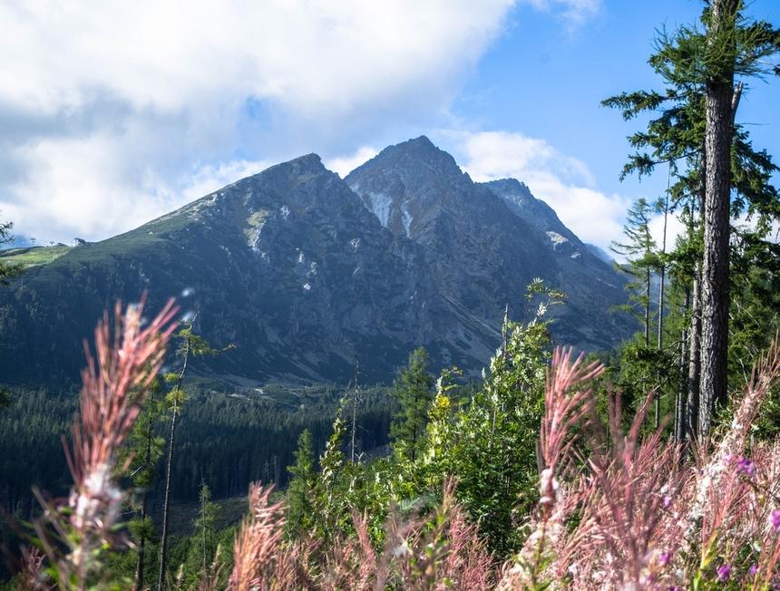 Tatry Wysokie, trasa naRysy od strony słowackiej