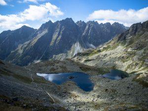 Widok naŻabie Stawy Mięguszowieckie, Tatry Wysokie