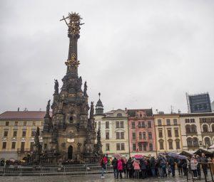 Kolumna Trójcy Przenajświętszej, Rynek Górny, Ołomuniec