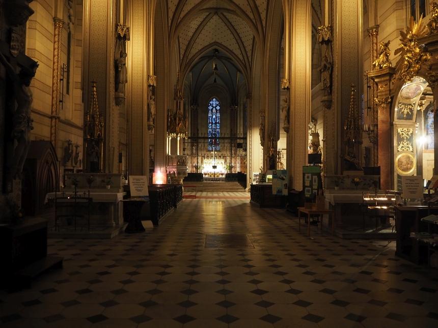 Wnętrze katedry św. Wacława, Ołomuniec